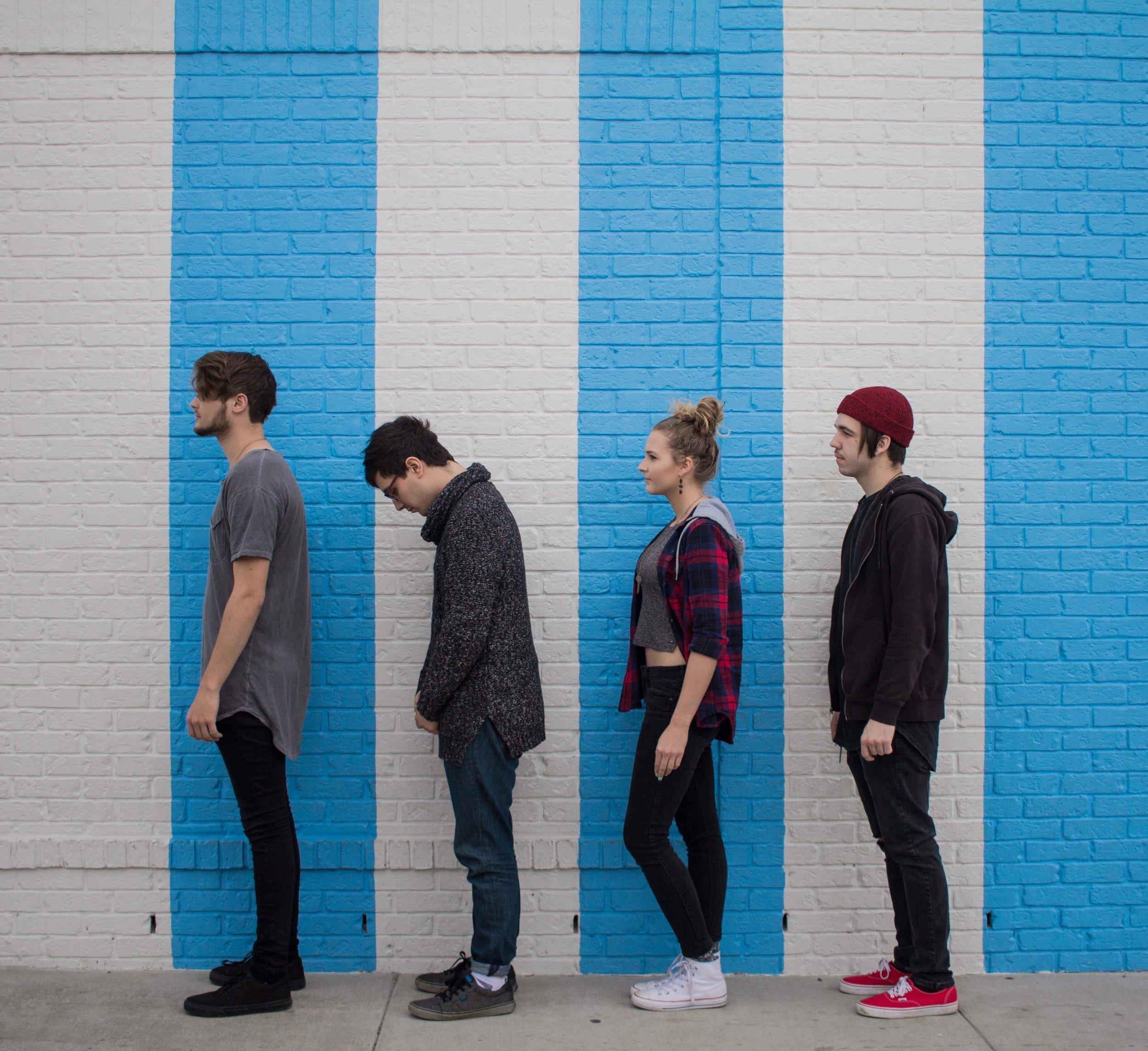 Left to Right: Ryan, Eric, Nikki and Zach