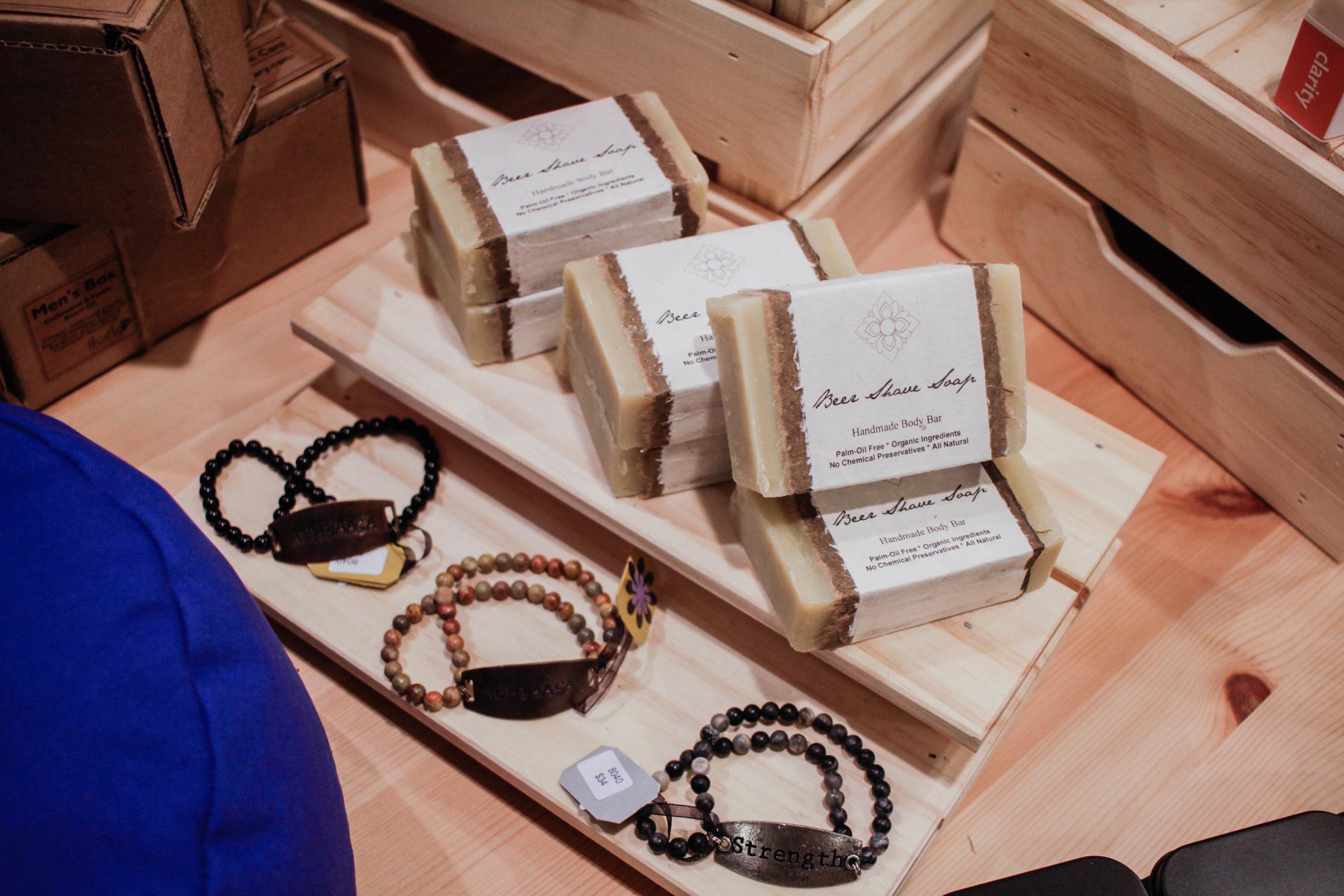 Soap and Bracelets