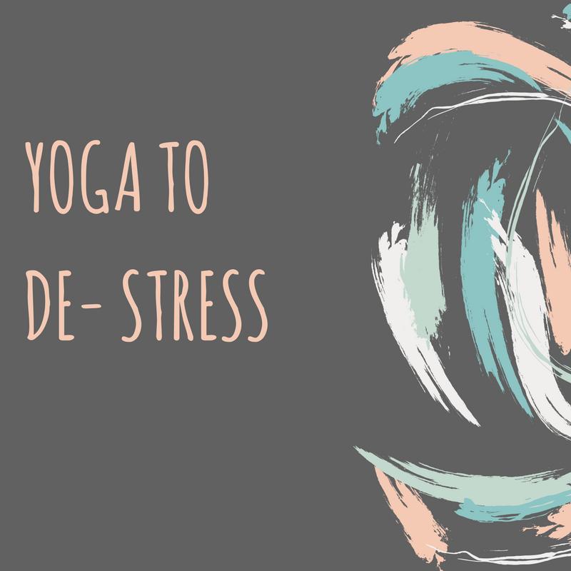 Yoga Poses To De-Stress