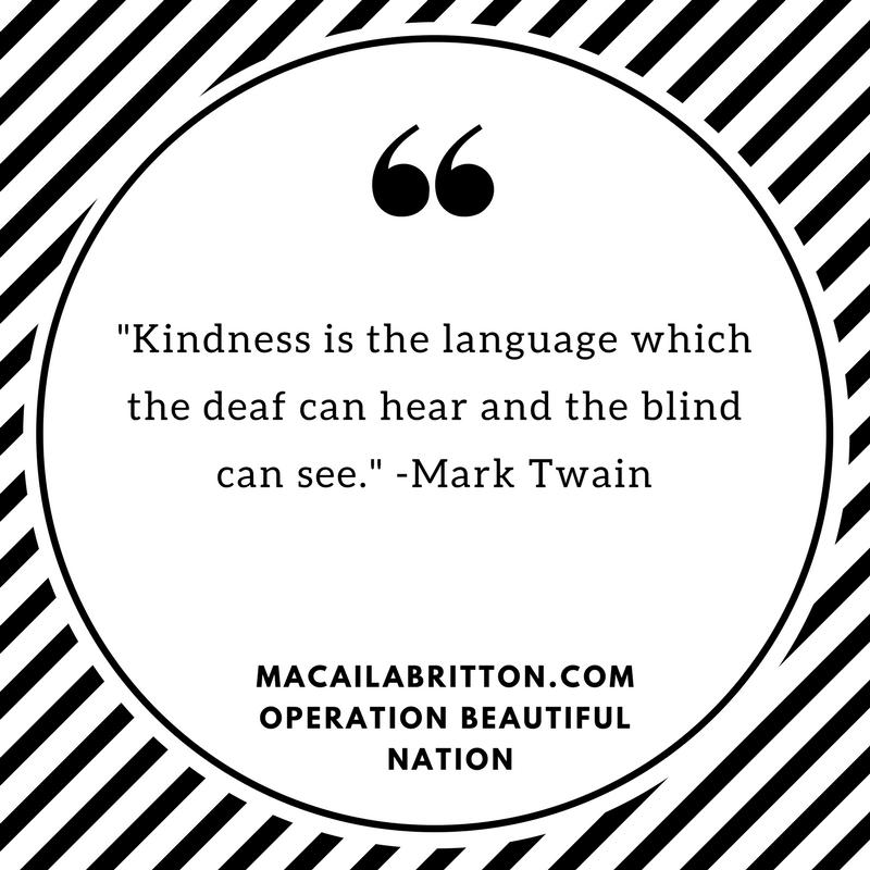 Mark Twain Kindness Quote