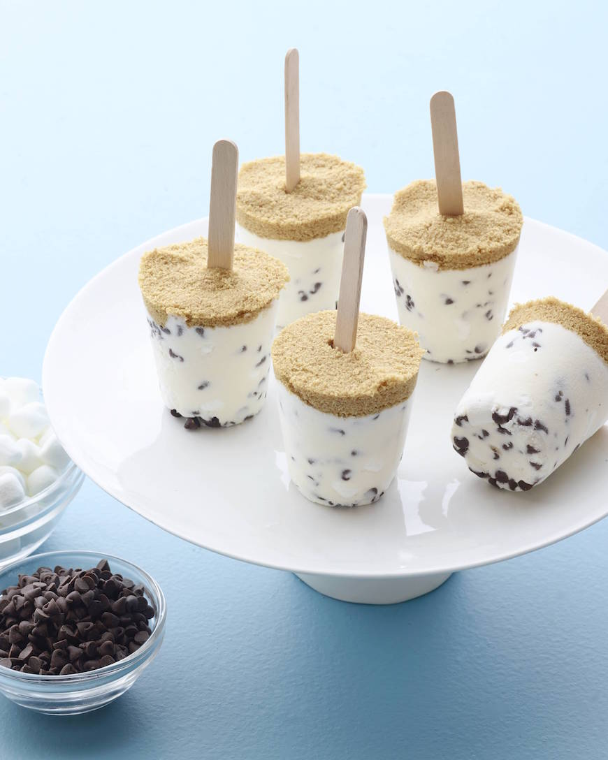 S'more Cheesecake Pops