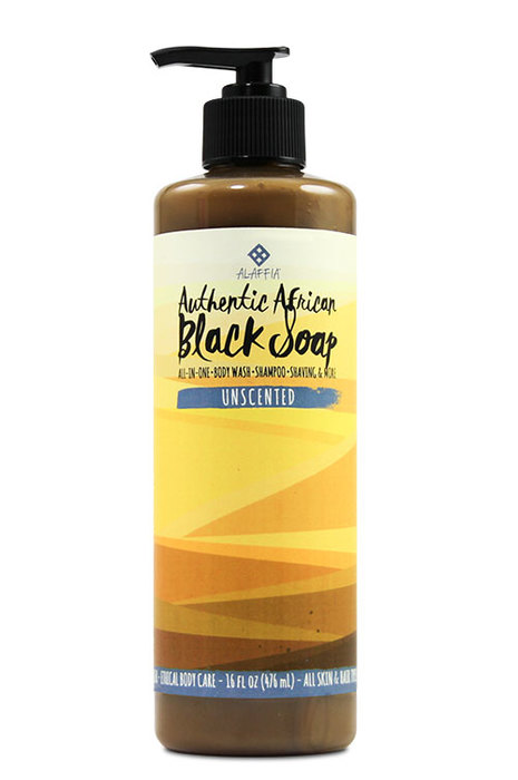 Authentic African Black Soap- Unscented