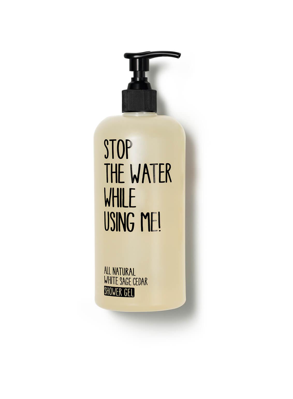 All Natural White Sage Cedar Shower Gel