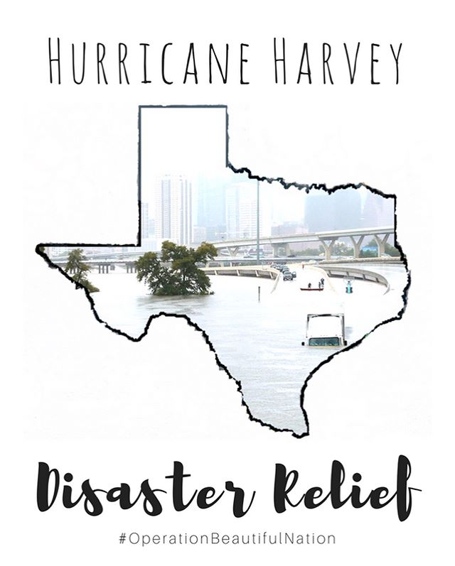 Hey Chicagoland peeps, we are starting a collection for Hurricane Harvey victims. After seeing heartbreaking photos and hearing people's story, we're getting involved and helping with the aftermath of the storm. From today until Saturday September 16th, we are collecting donations which will be sent to Texas. If you would like to help, please take a look at the donation list and DM/ us to drop off the donations.