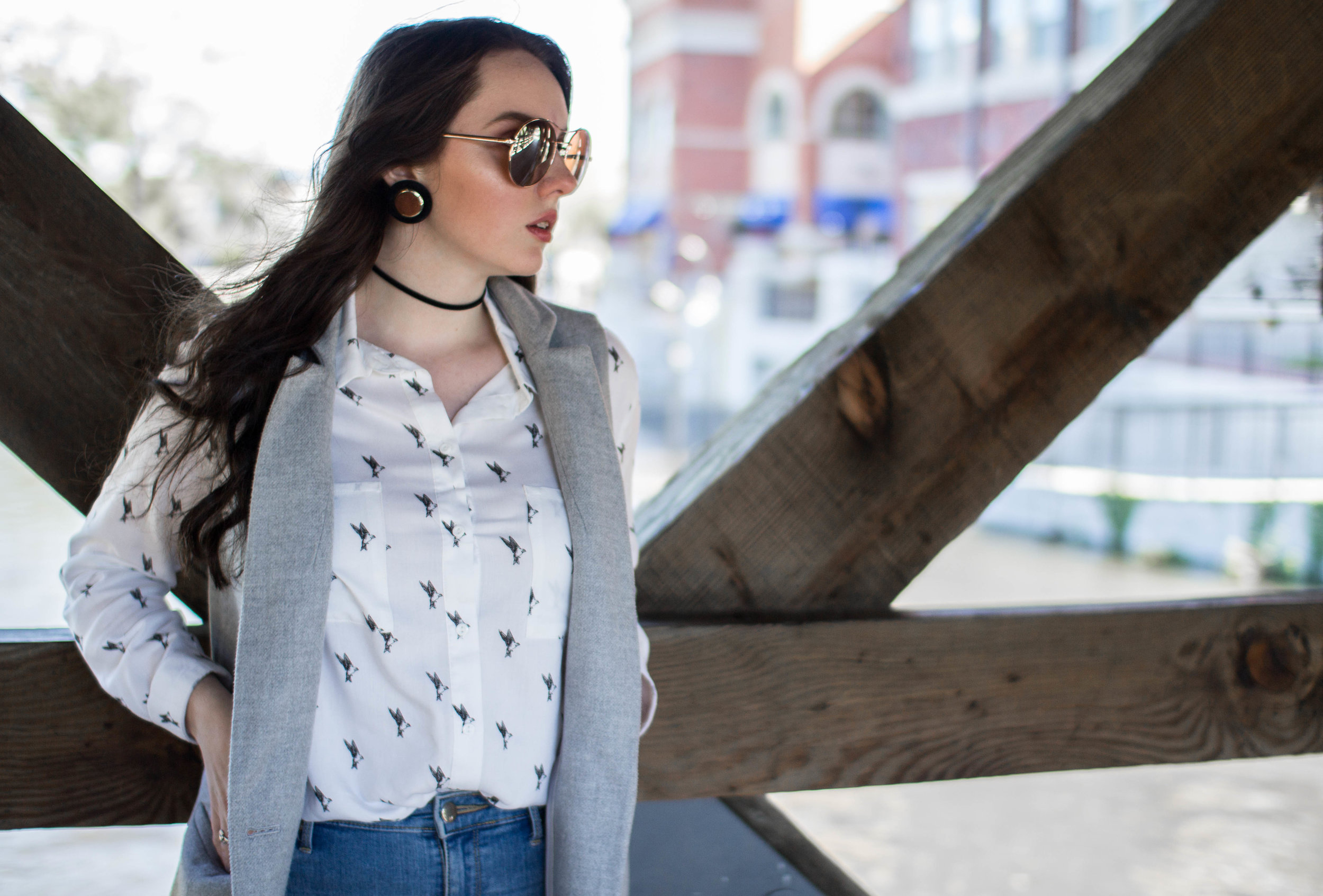 How I Style A Long Vest |Casual Wear