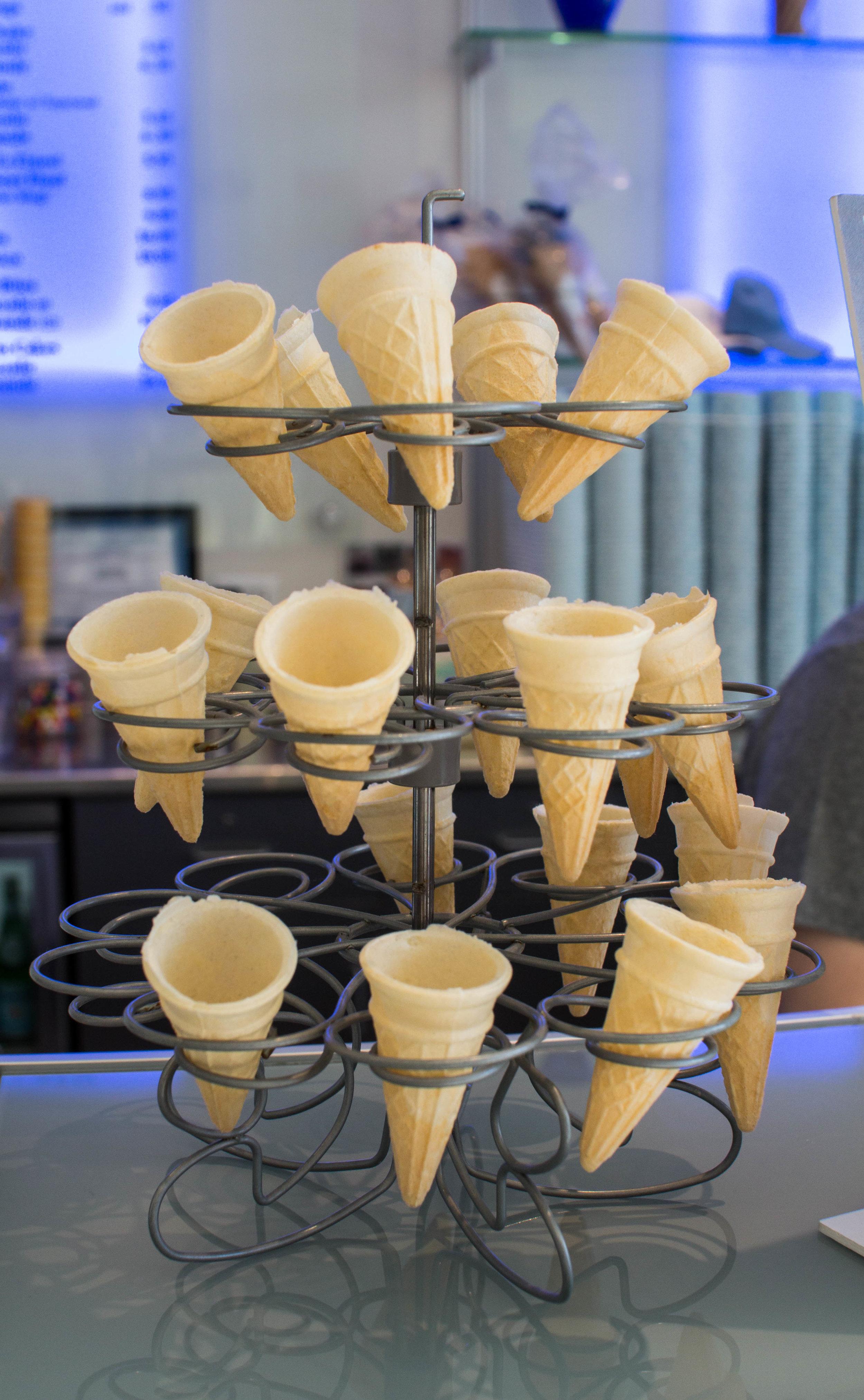 Mini Gelato Cones