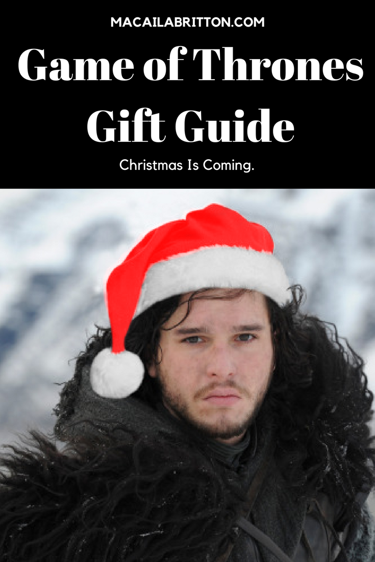 Holiday Gift Guide Game of Thrones