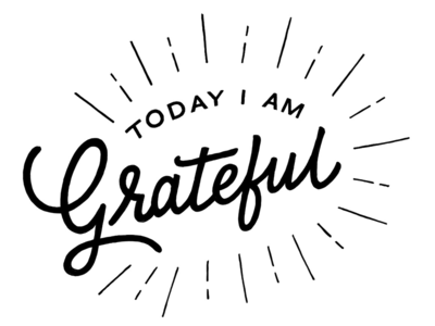 100 Things to be grateful for