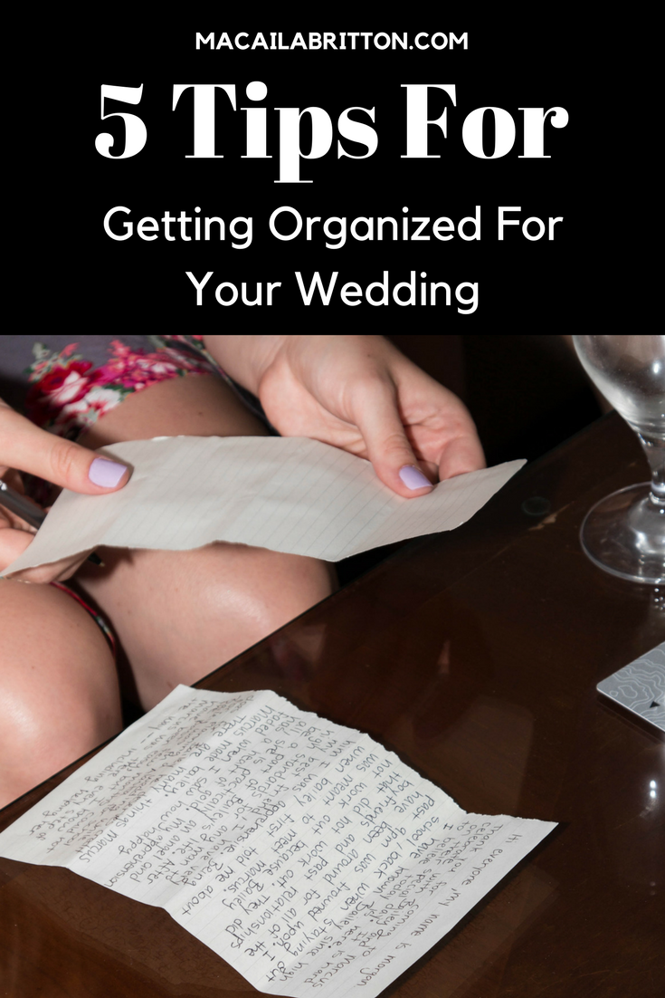 Wedding Tips How to organize your wedding