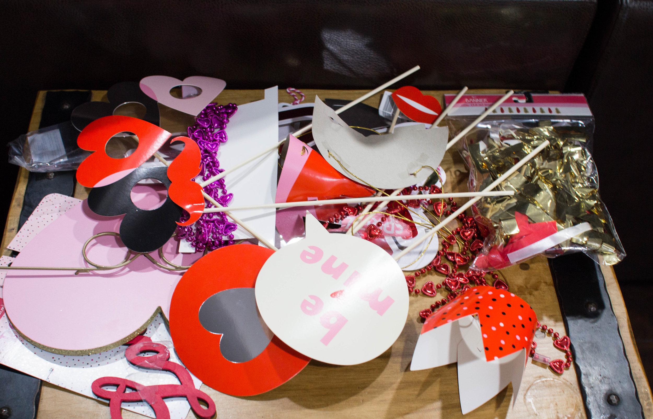 Valentine's Day Props