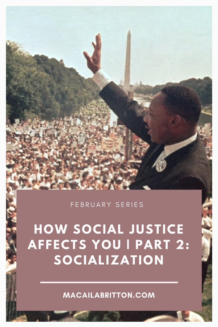 Social Justice and Socialization