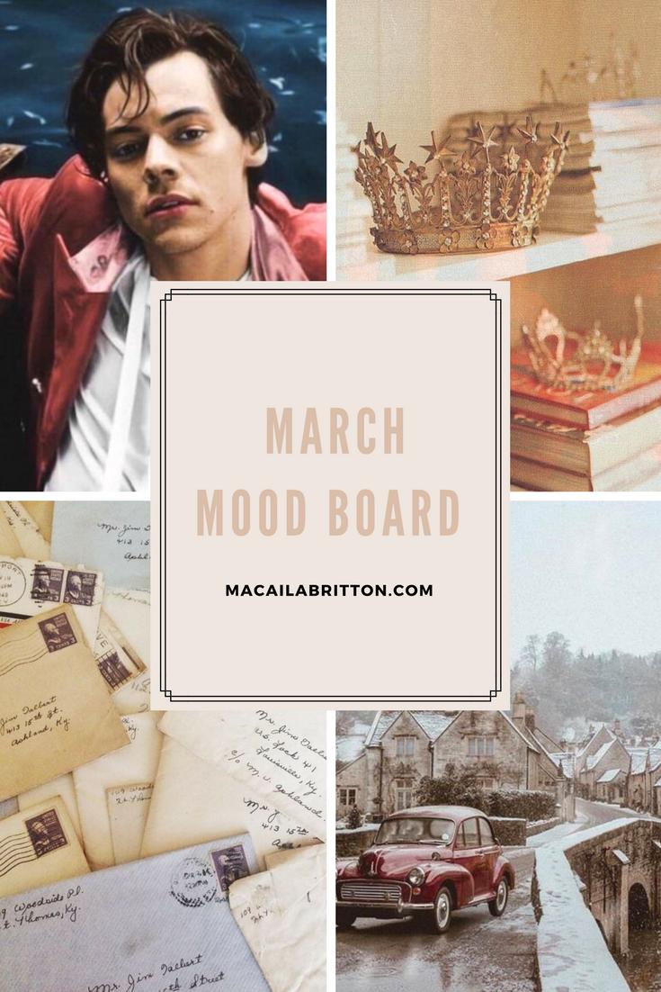 Mood Board Pinterest
