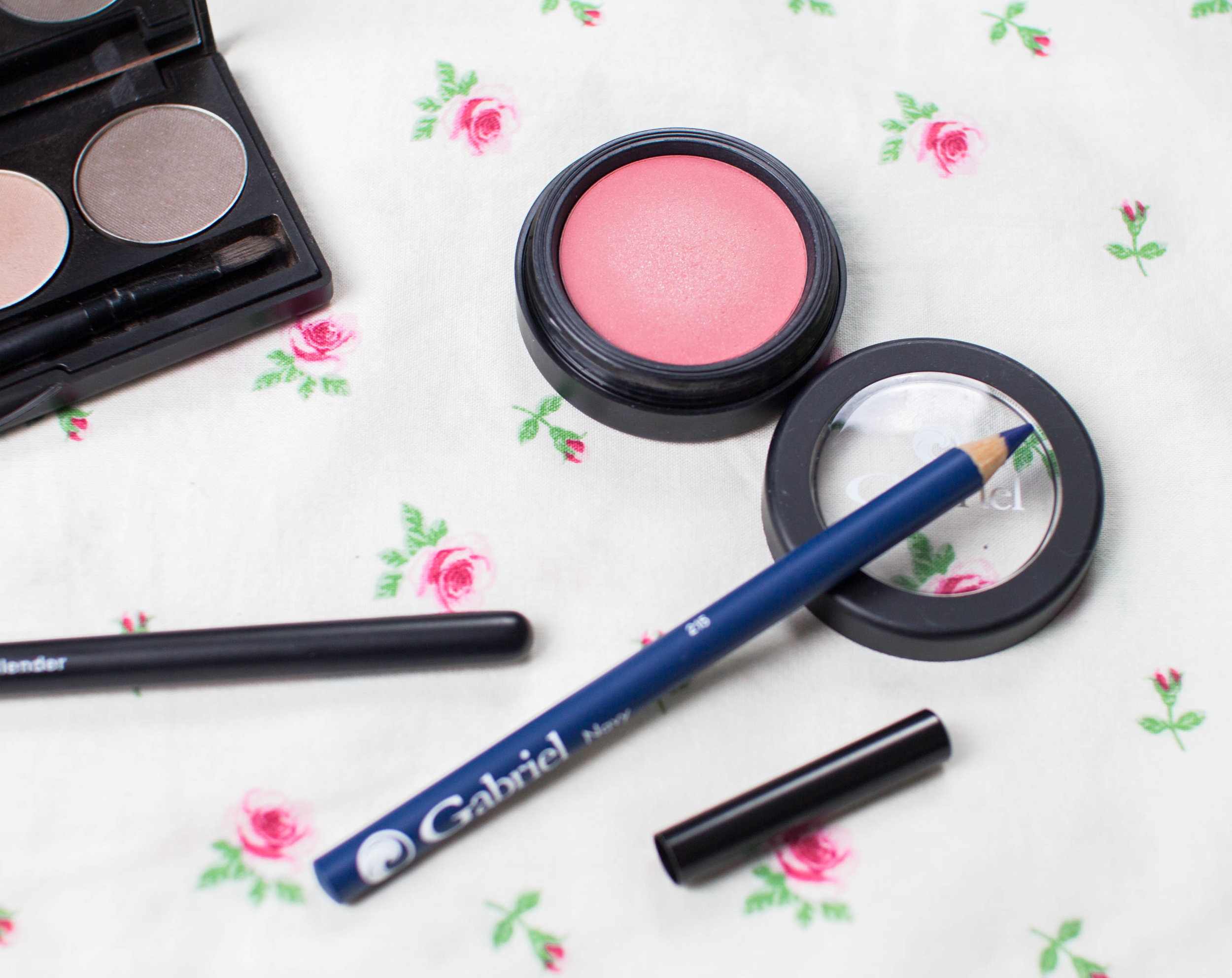 Gluten Free, All Natural Blush and Eyeliner