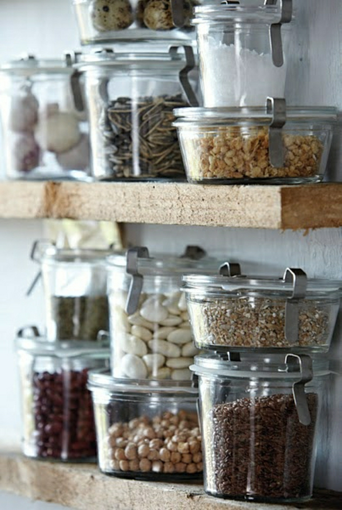 Reusable Food Containers and Kitchen Organization