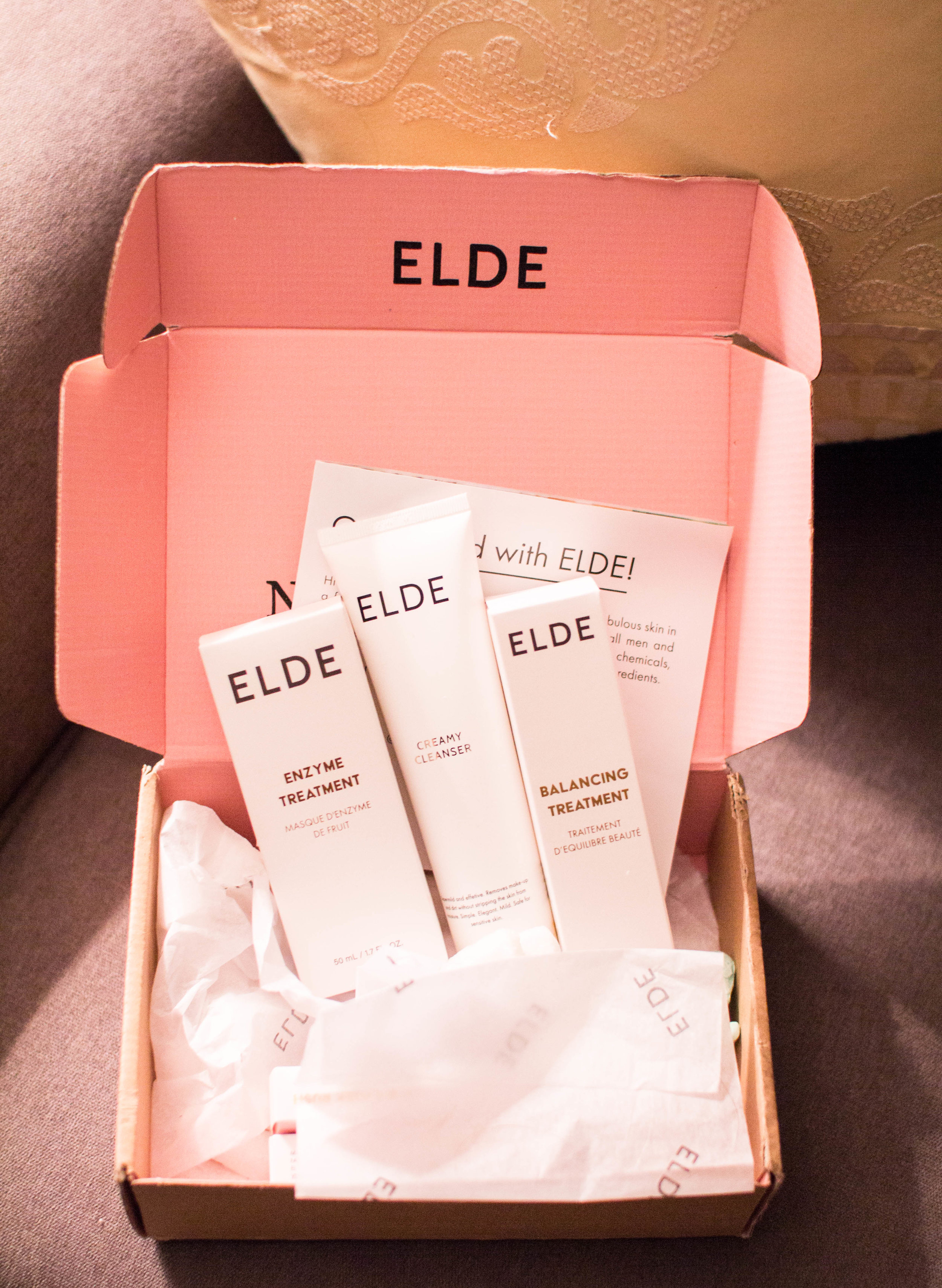Unboxing + ELDE Skincare Review