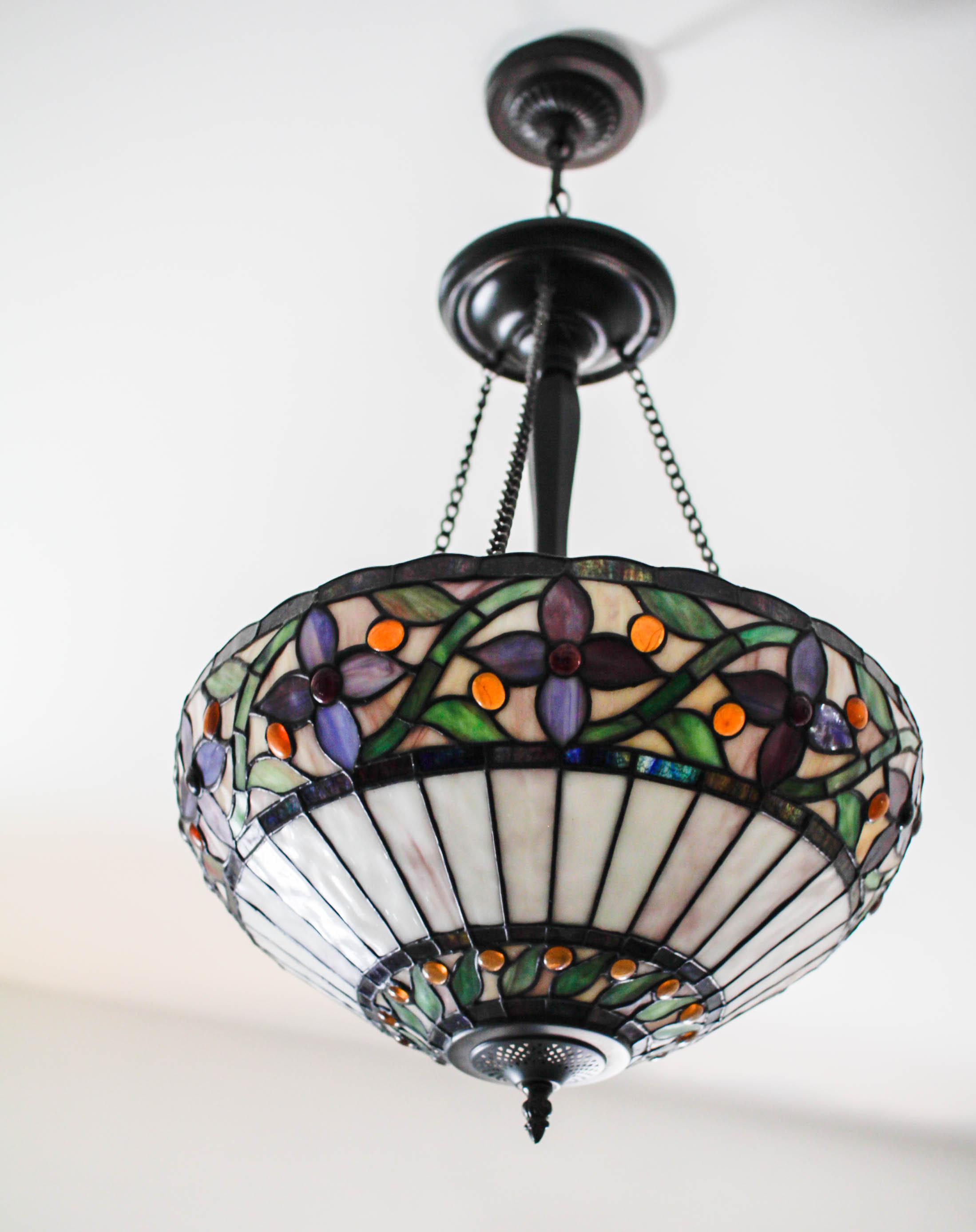 Antique Overhead Light