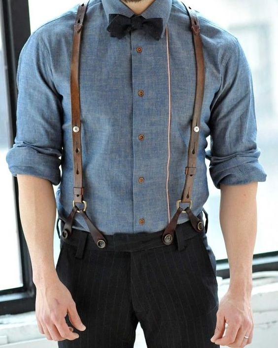 Dress shirt with rolled up sleeves