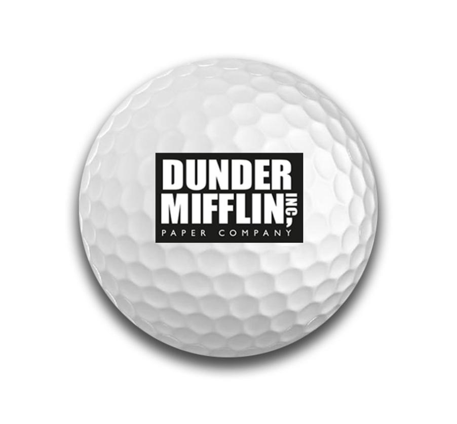Dunder Mifflin Golf Ball