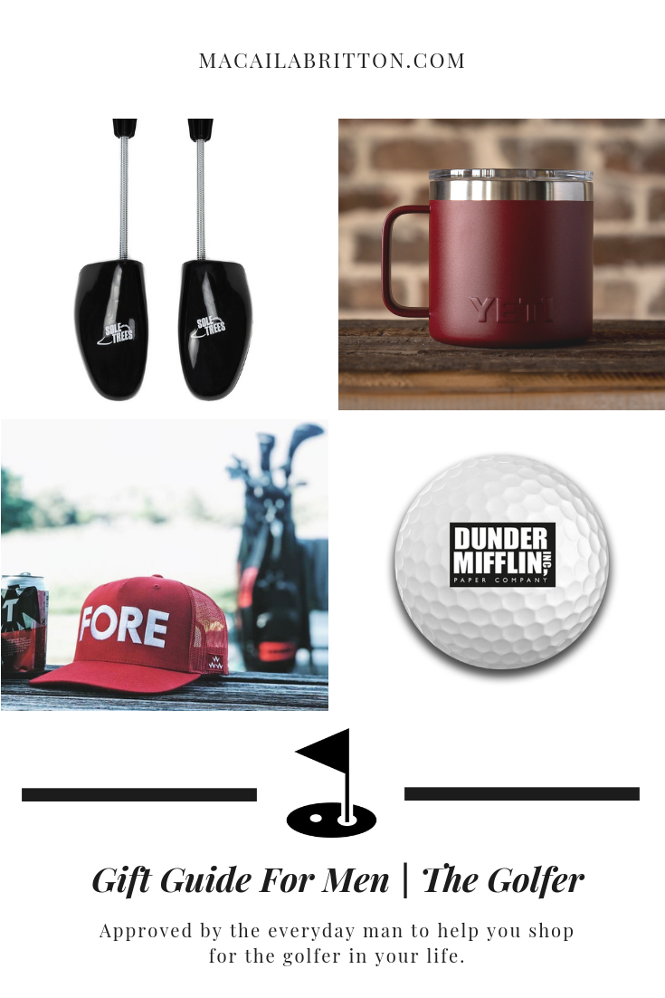 Christmas Gift Guide For The Male Golfer