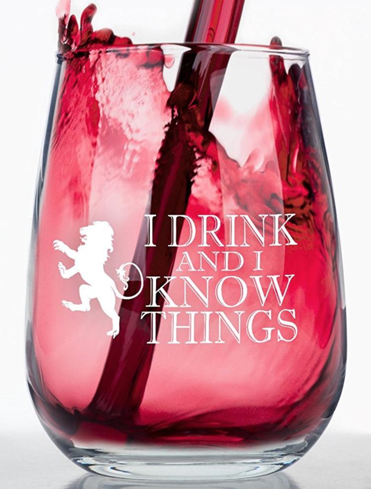 Game of Thrones Wine Glasss