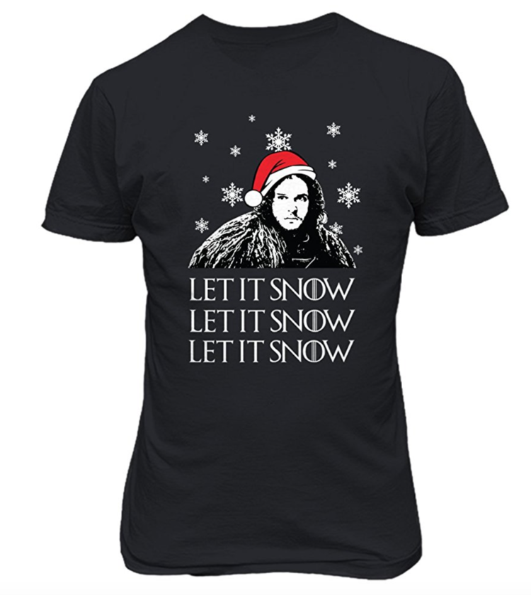 'Let+it+Snow'+Game+of+Thrones++T-shirt.png