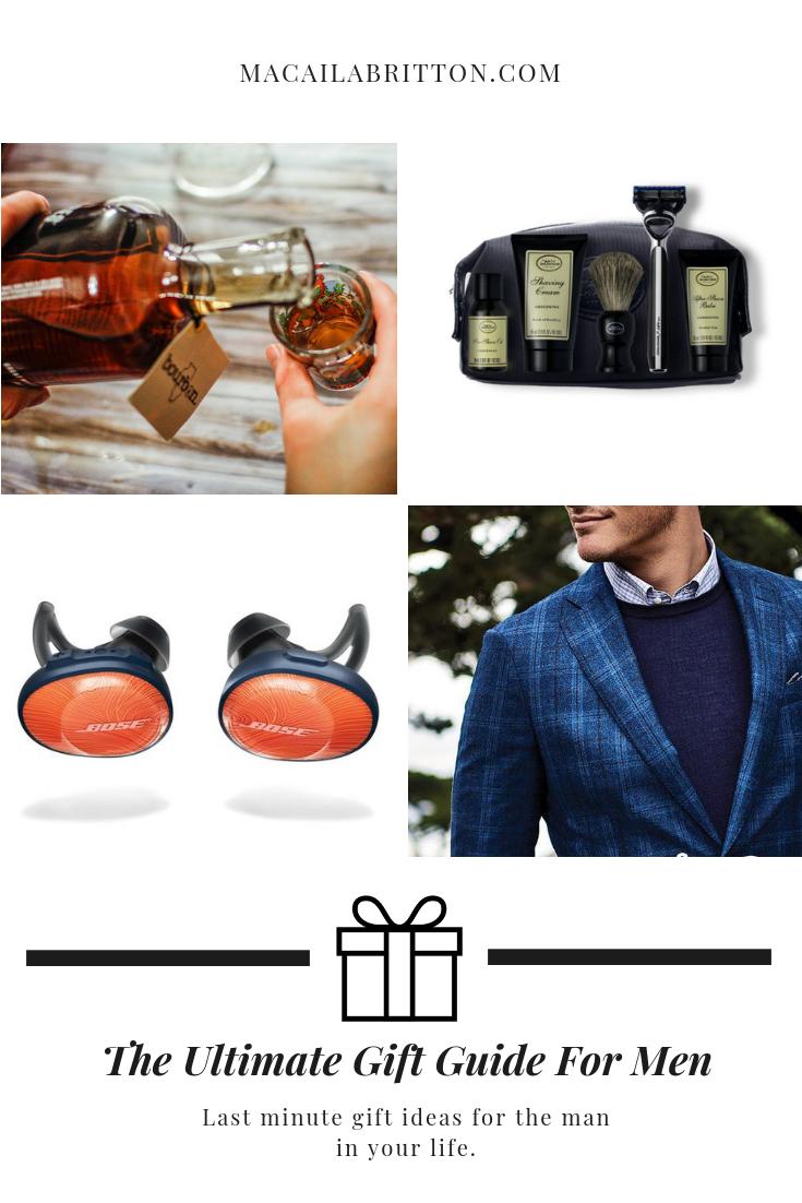 Last Minute Gift Ideas for Men