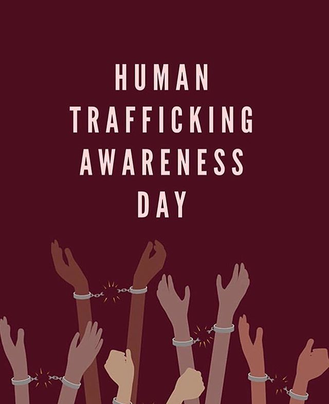 Use your voice. It matters 🗣#humantraffickingawarenessday