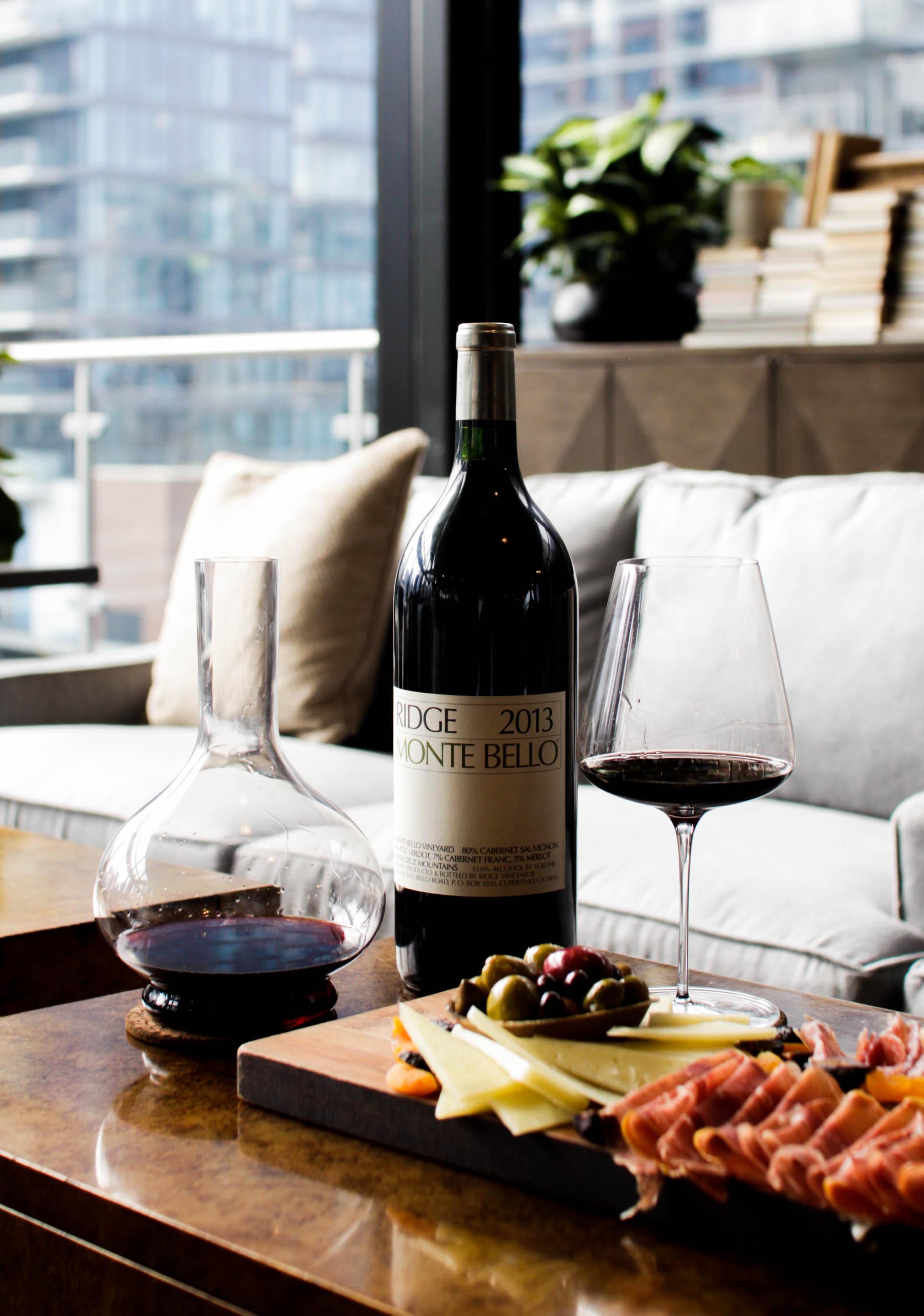 Ridge Wine Photography