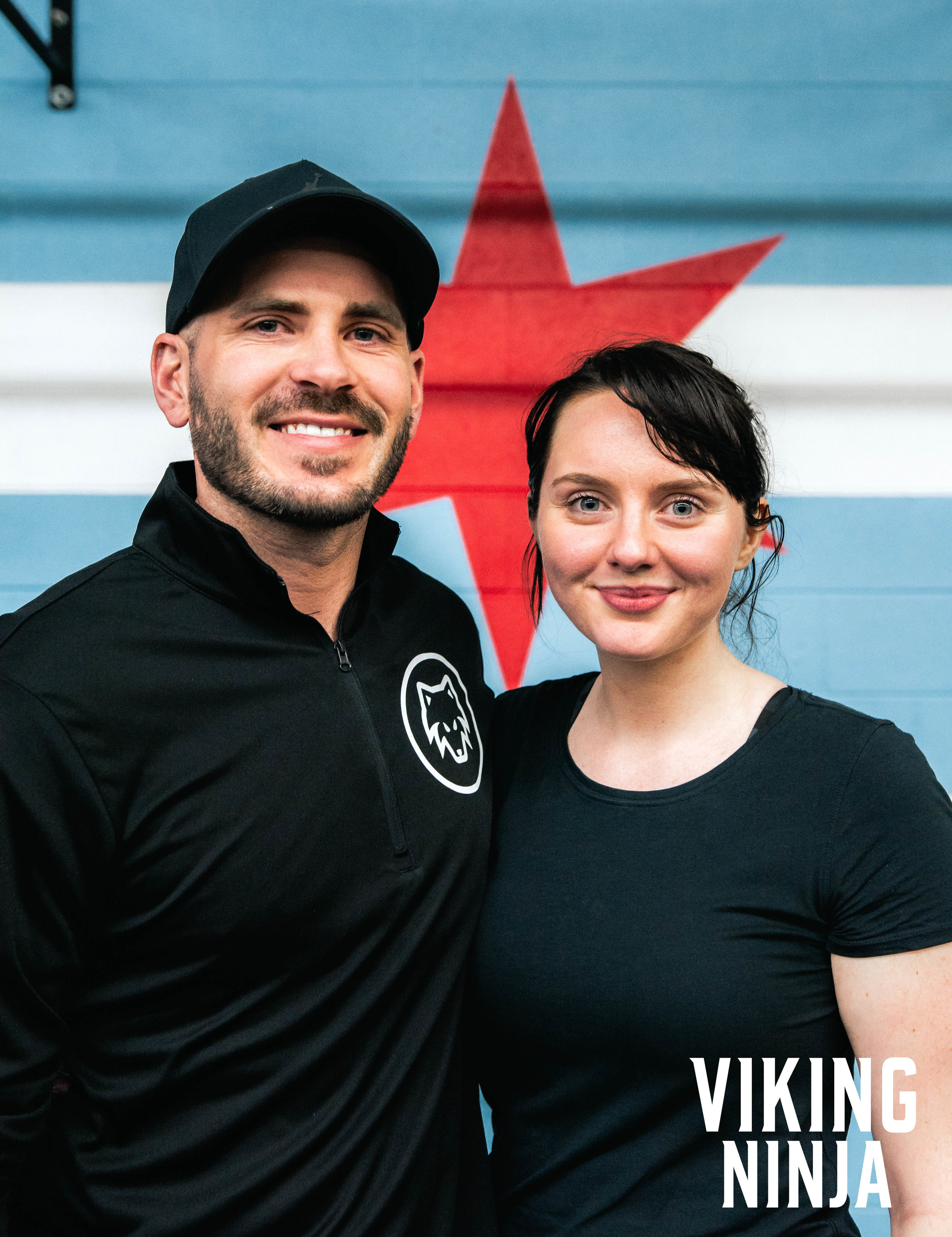 Phillip Carlson and Macaila Britton attending the VKNJA Certification in Chicago at Midwest Strength and Performance