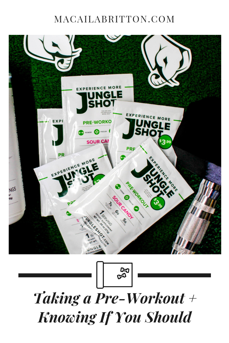Jungle Shot is the best pre- workout for men and women
