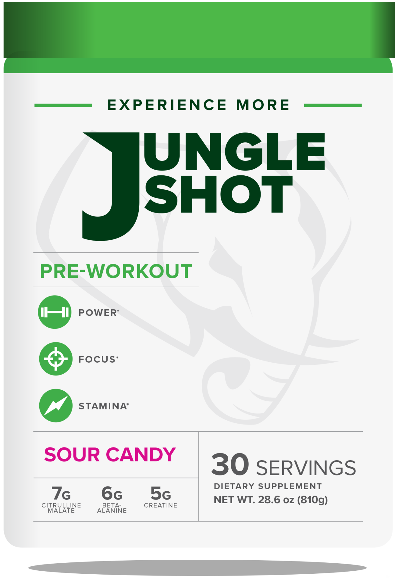 Jungle Shot Pre- Workout Supplement