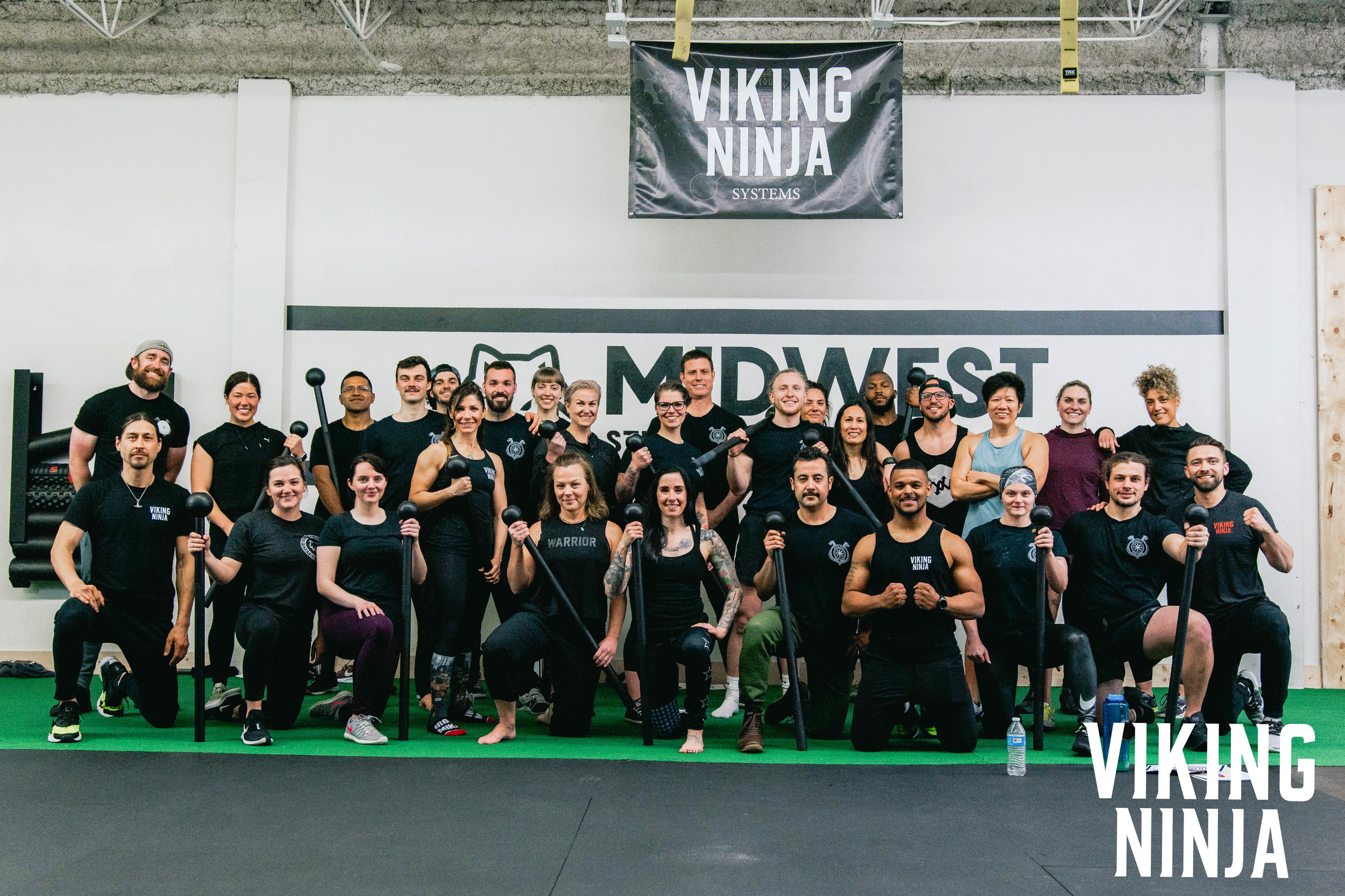 Viking Ninja Fitness Training System Chicago and Viking Ninja Women Community