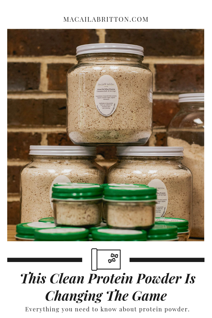 Clean and Sustainable Protein Powder Based In Chicago