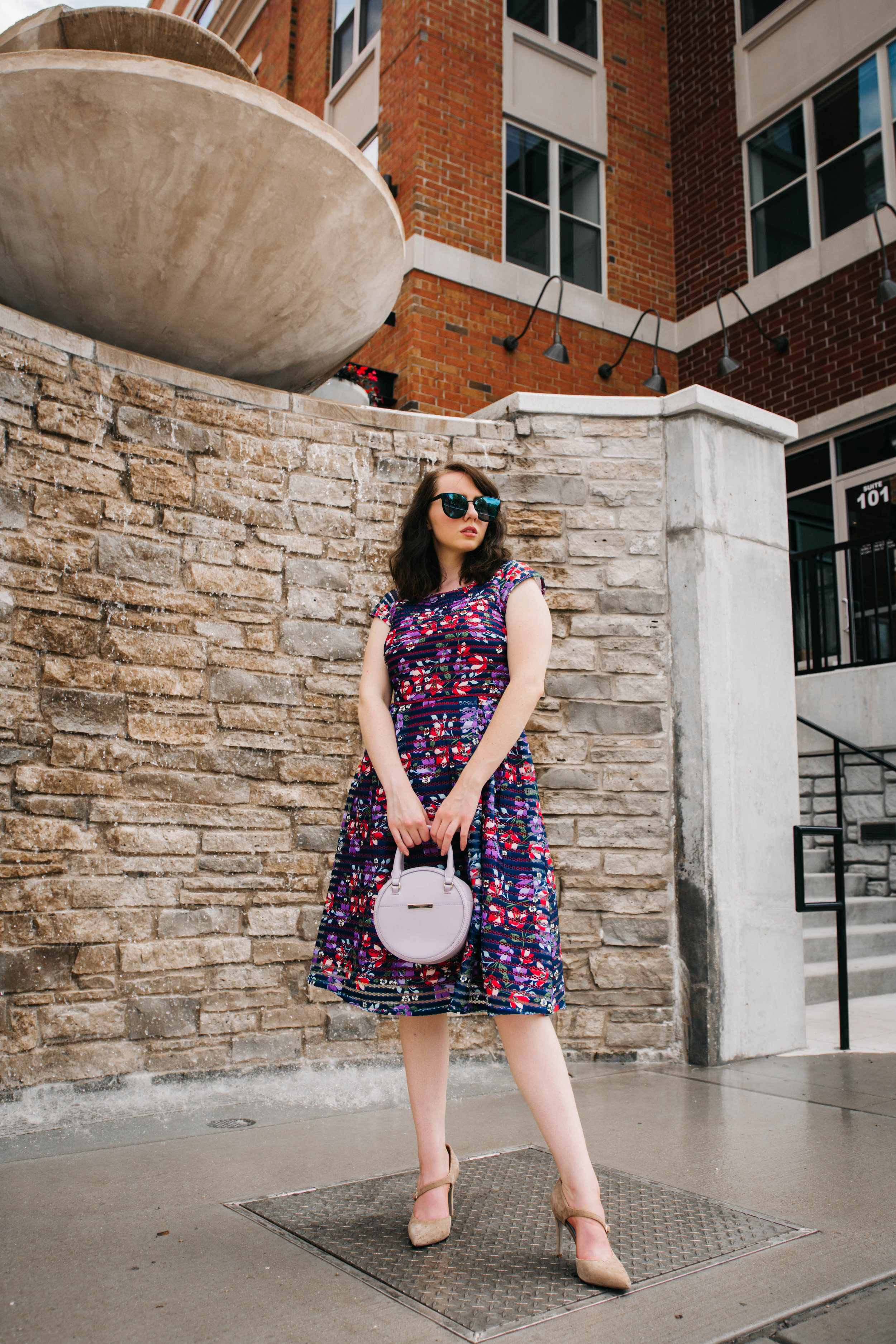 Spring and summer floral wedding guest dress ideas
