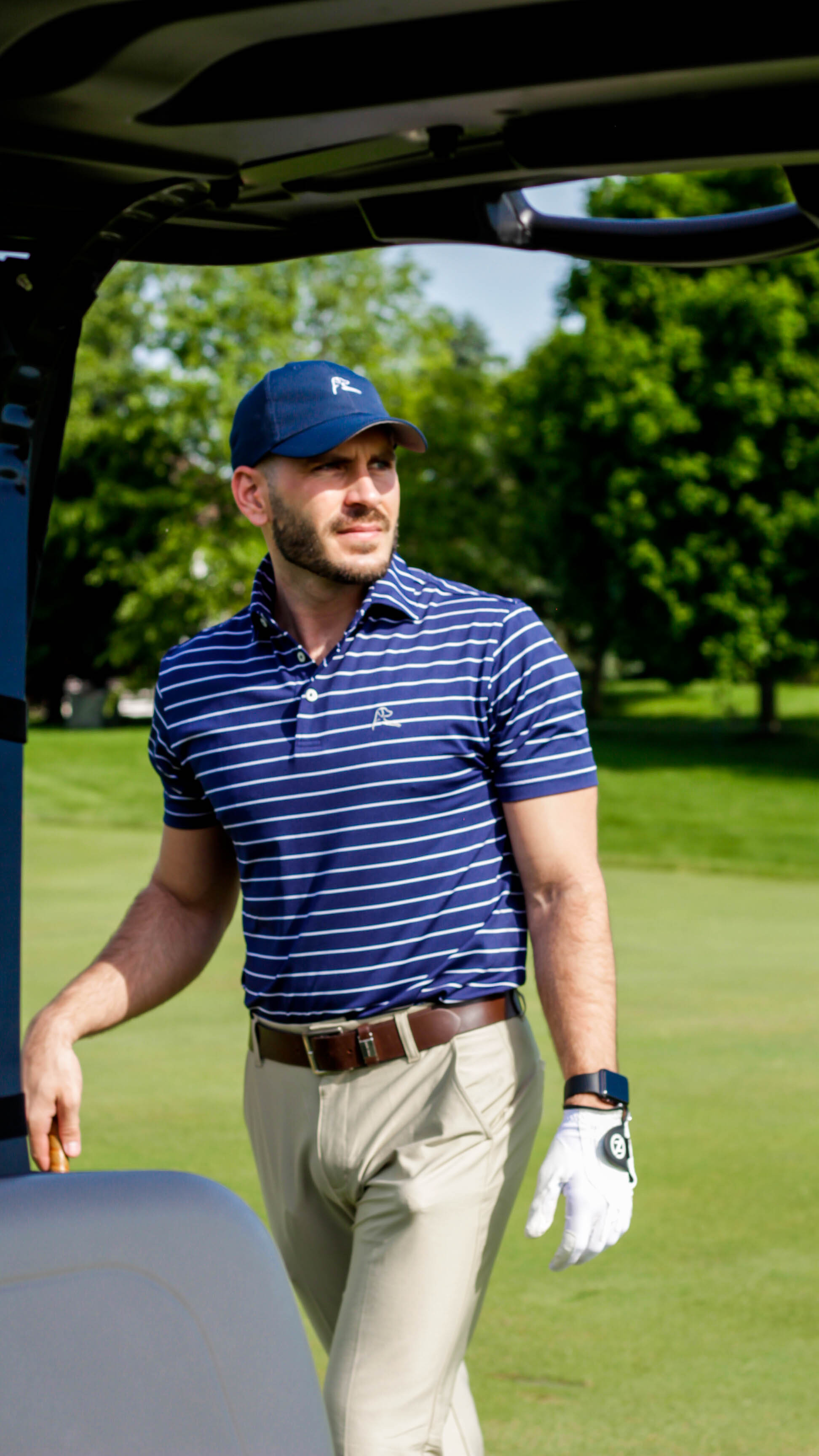 Wearing: The Navy Yard Polo, The Poly Hat