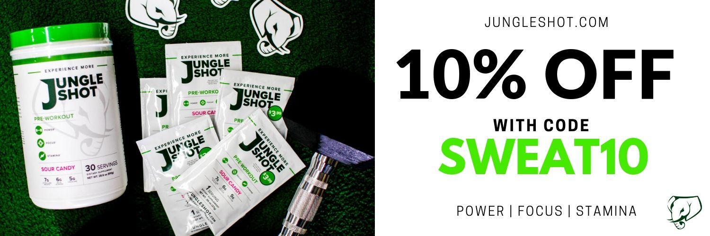 10% off Jungle Shot Pre-Workout Supplement