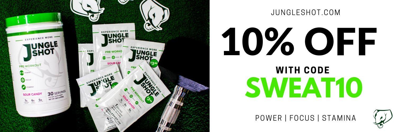 Jungle Shot Pre-Workout Fitness Supplement Discount Code