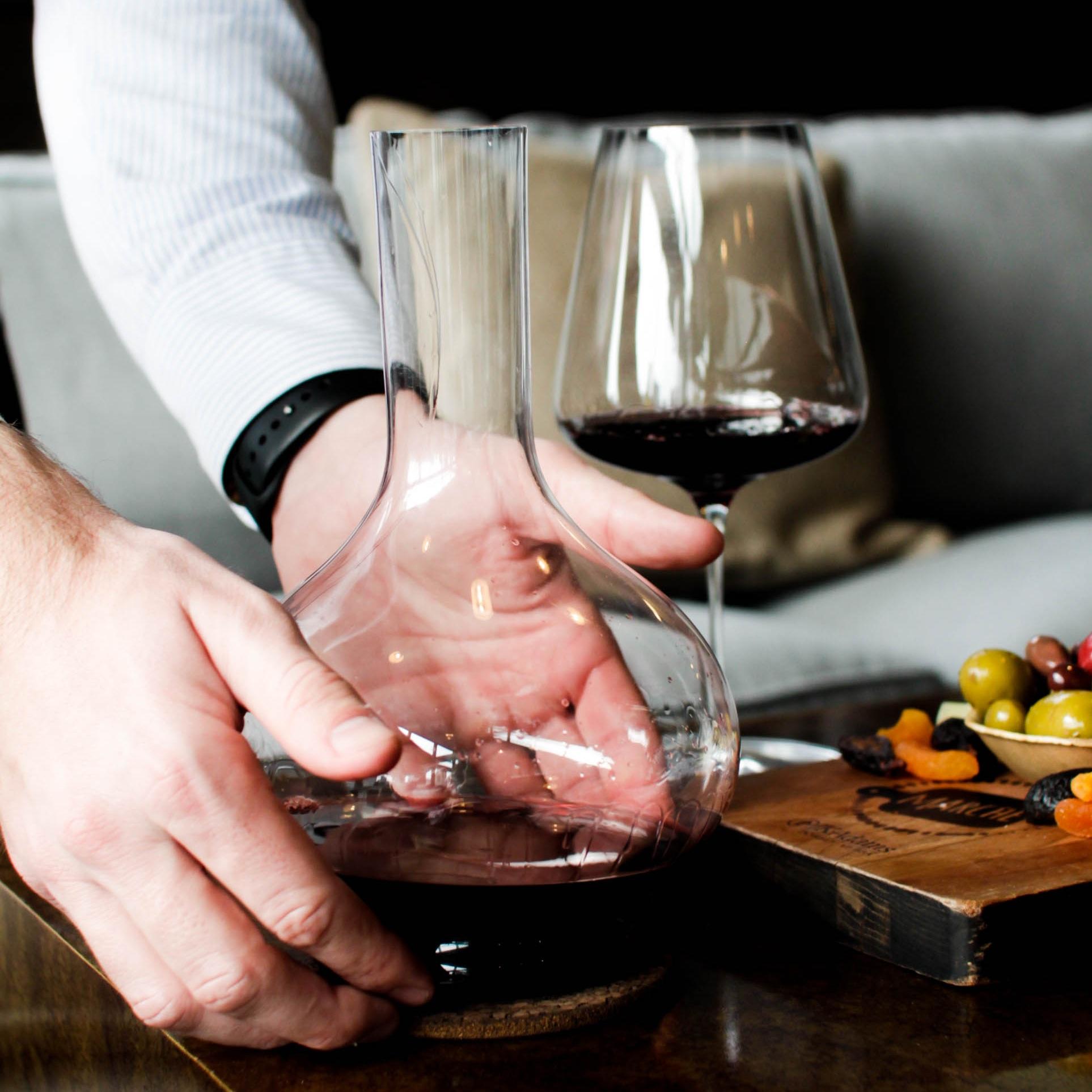 Grassl Decanter and Wine Glass
