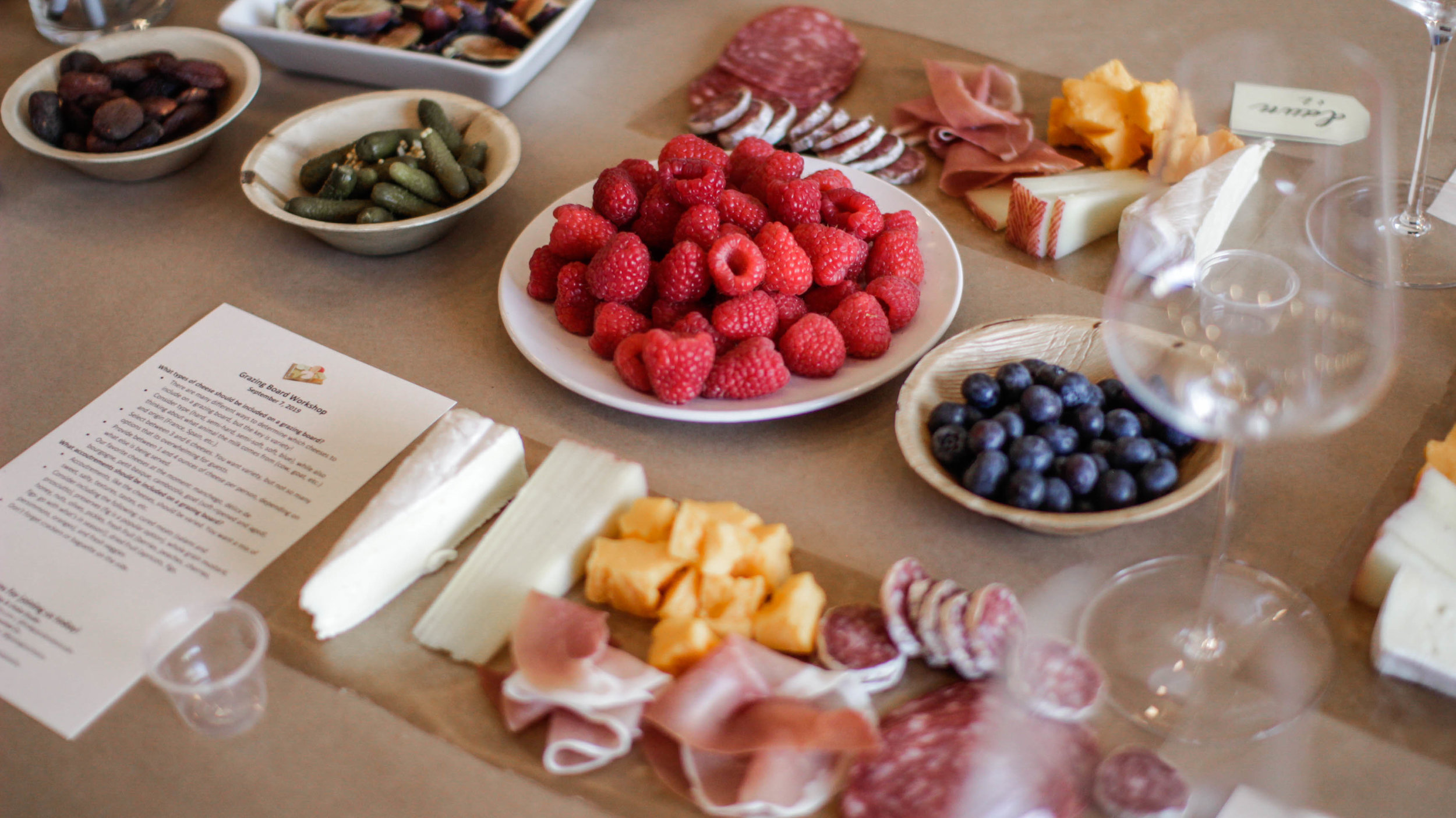 Charcuterie Board Assembly