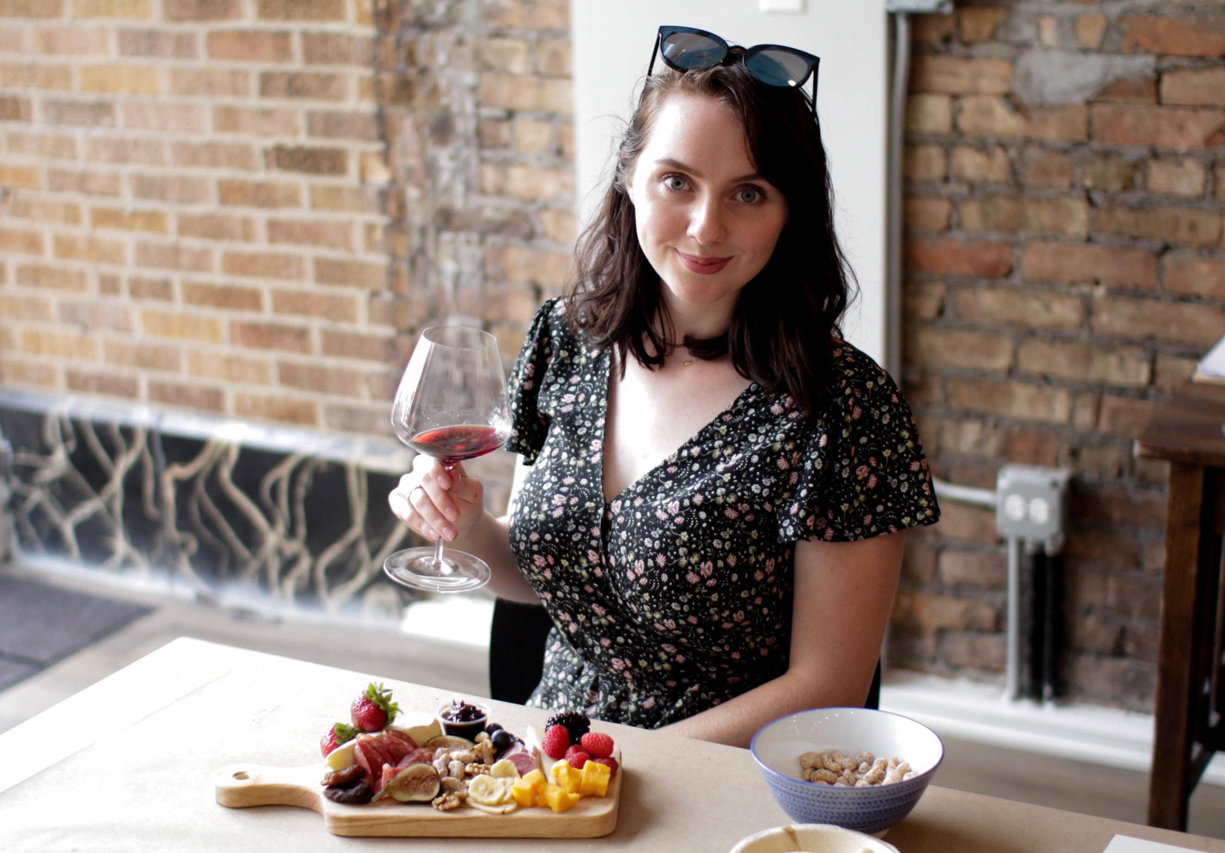 Grassl Glass and Ivy Grapes luxury Chicago stemware