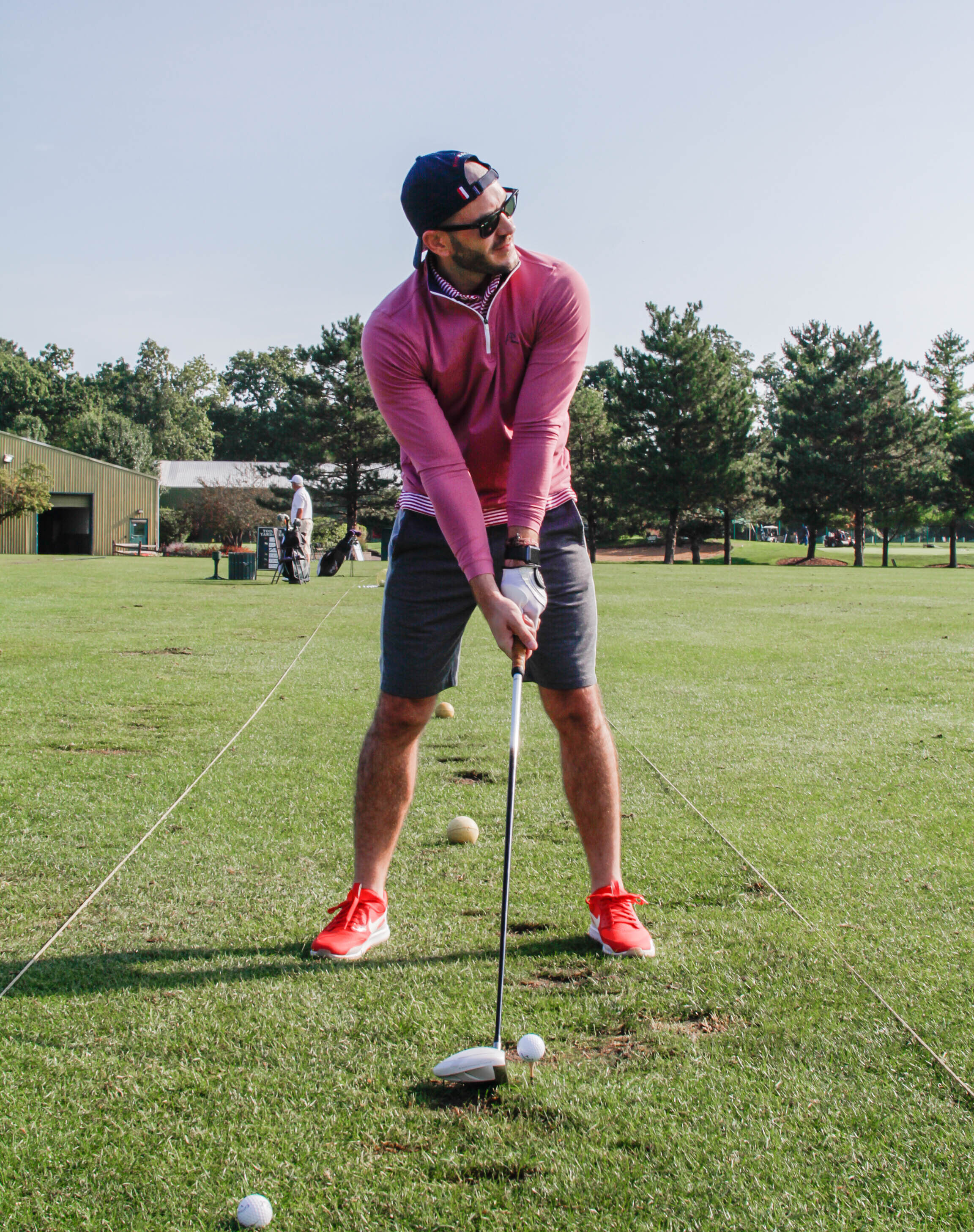 Golf Driving Range Outfit Ideas For Men