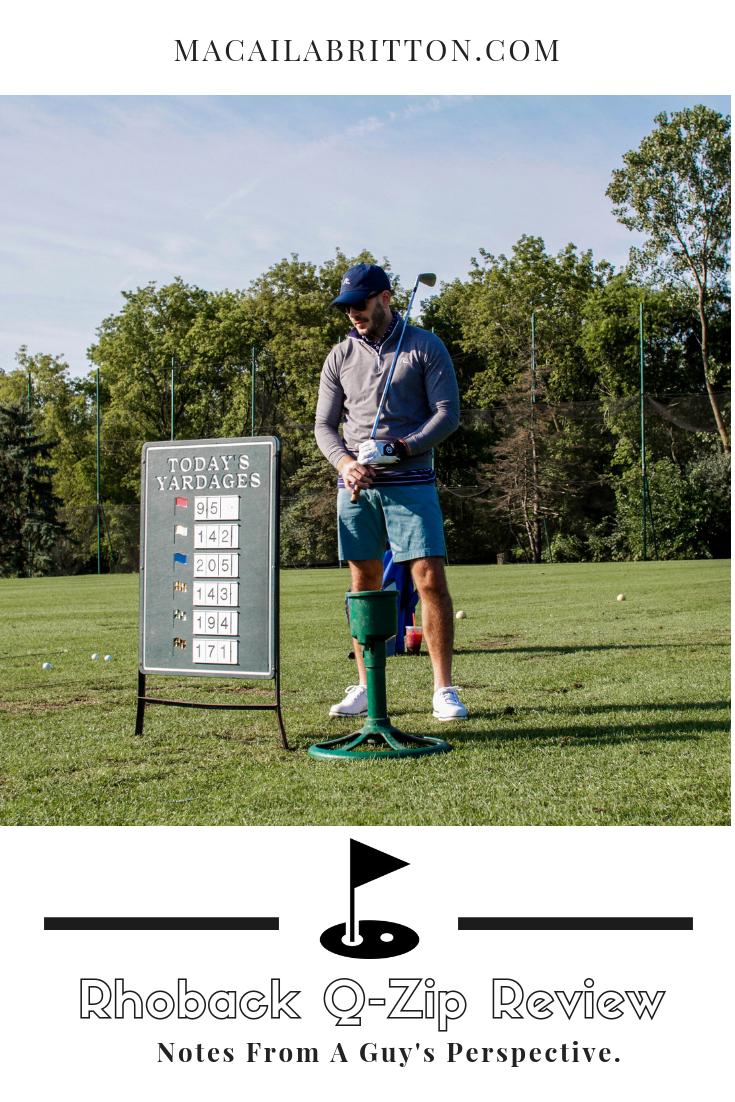 Rhoback Men's Golf and Active Apparel Quarterzip Review