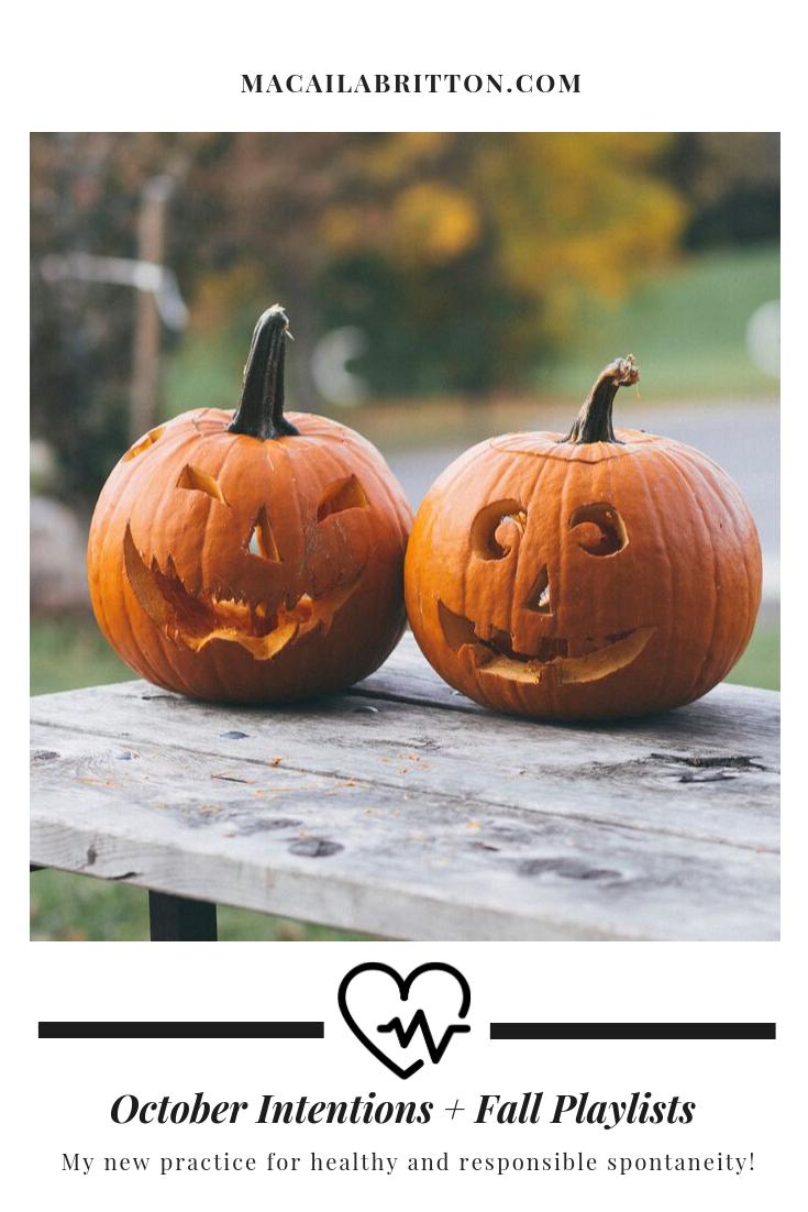 October Fall Playlist