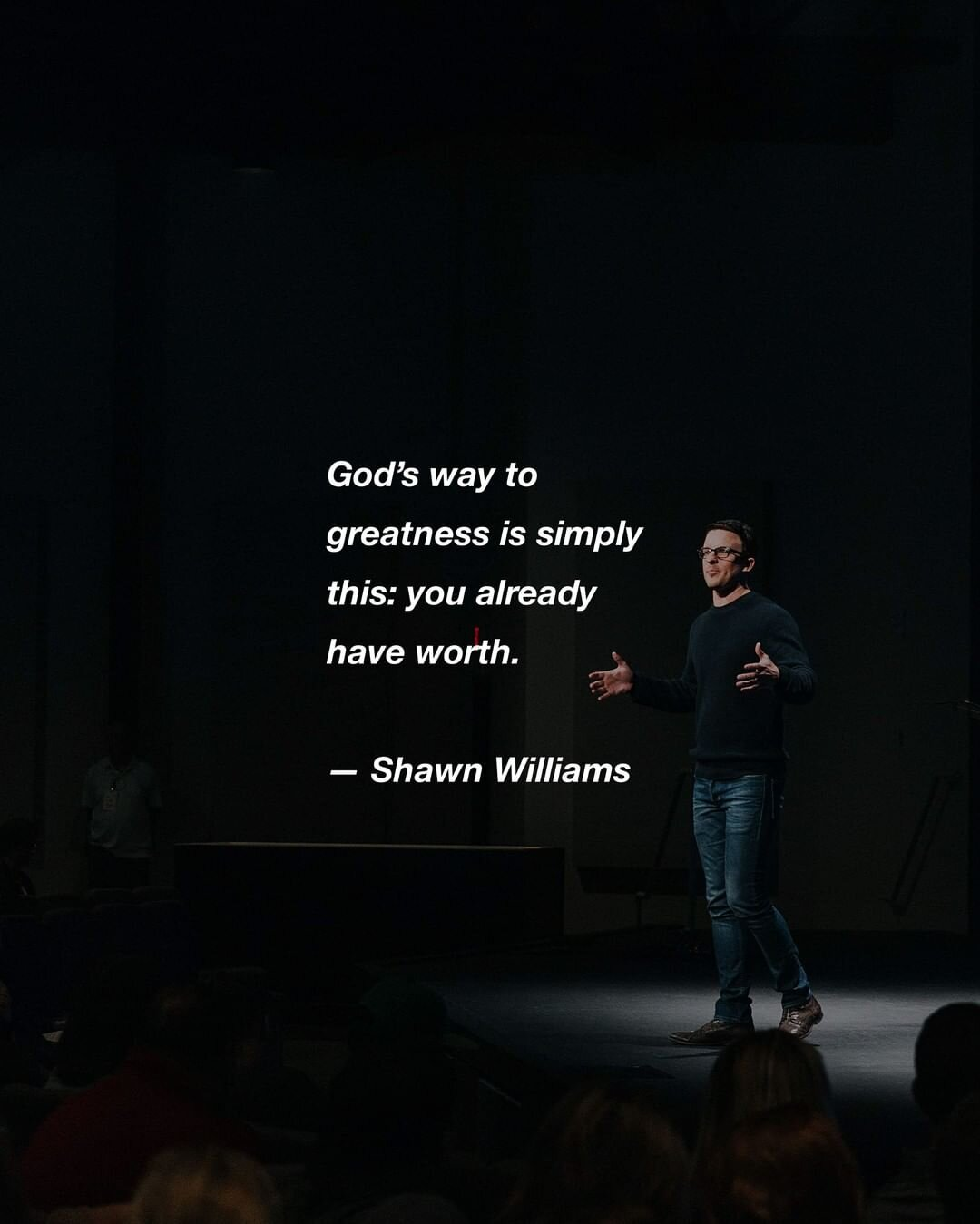 Pastor Shawn Williams at Mission Church in Bloomingdale, IL