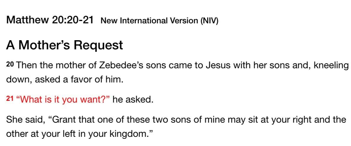 Matthew+20%3A20-21+NIV+Bible+Passage+A+Mother%27s+Request