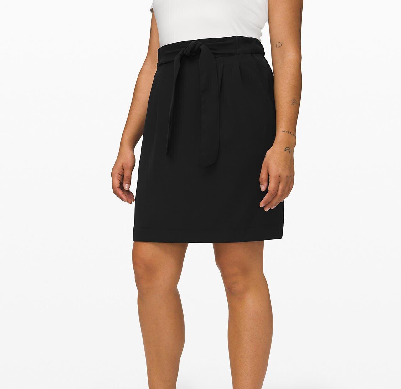Noir Skirt in Black