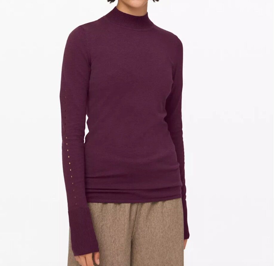 Stand Steady Mock Neck Sweater Online Only