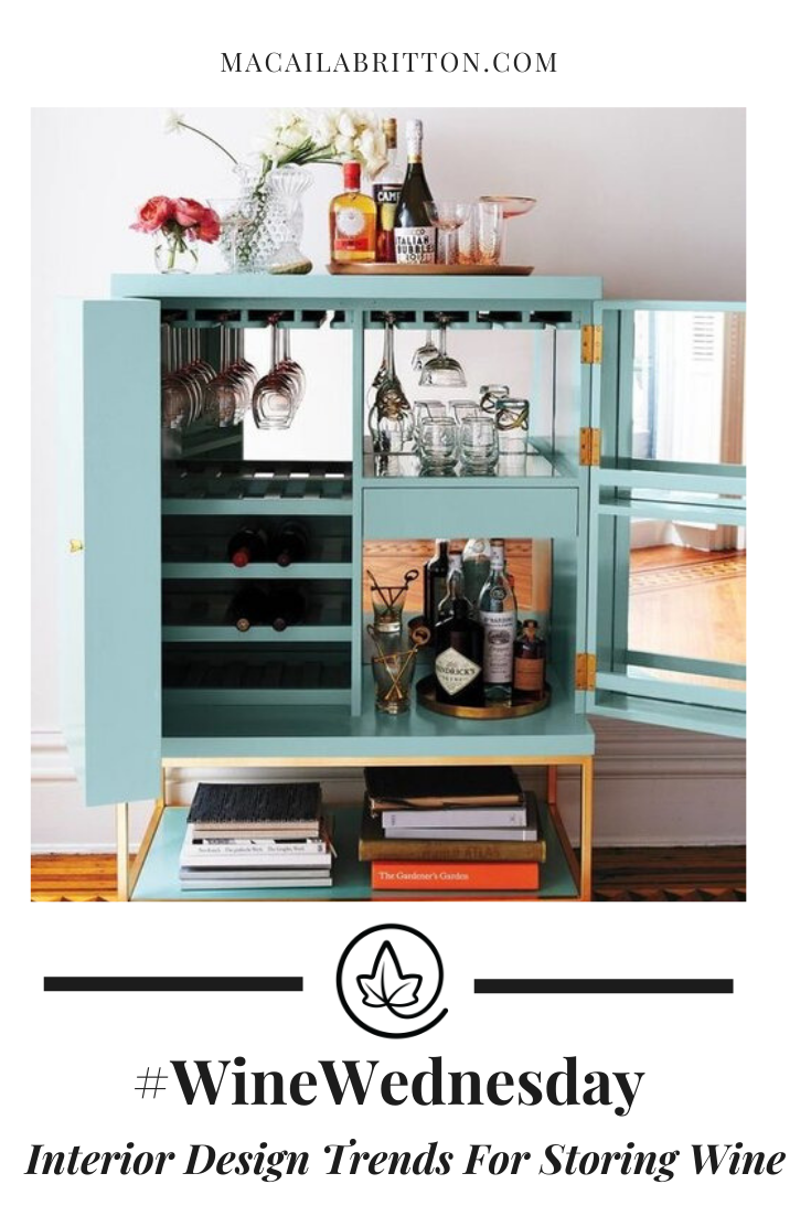 Modern, Vintage, and Chic Wine Bar Cart Ideas