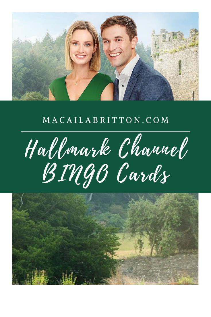 The Hallmark Channel Fall Harves   BINGO Cards
