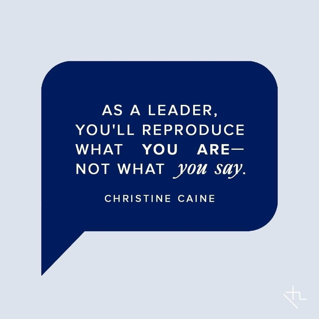 Christine Cane leadership quote and advice